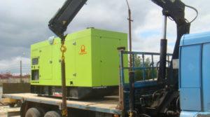 перевозка генераторов манипулятором